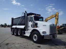 kenworth dump 2013 kenworth t800 dump truck for sale 29 375 miles morris il