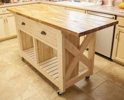 small mobile kitchen island butcher block kitchen island ideas
