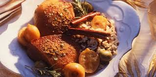 comment cuisiner l oie oie rôtie aux épices et aux citrons confits facile recette sur