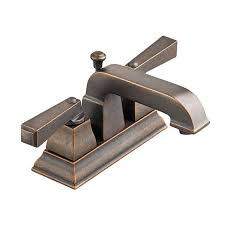Oil Rubbed Bronze Bathroom Faucets by American Standard 2555 201 224 Town Square 4