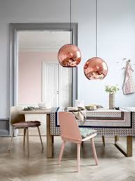 dining room table lighting 20 examples of copper pendant lighting for your home