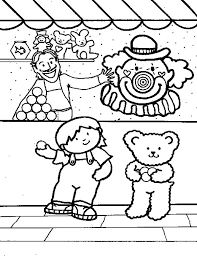 carnival games coloring pages best place to color