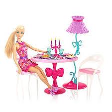 barbie dining room set barbie glam dining room furniture