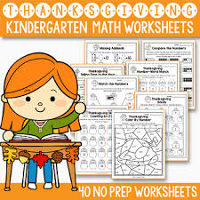 thanksgiving activities kindergarten thanksgiving math worksheets