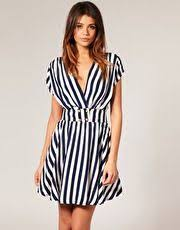 Nautical Dress Theme - dress of the day nautical striped dress from rare fashion