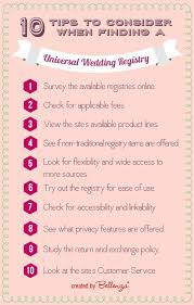 finding wedding registry universal wedding registry 10 tips to consider with infographic