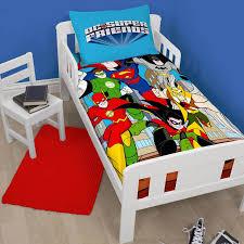 dc comics super friends junior duvet cover sets 4 in 1 bedding