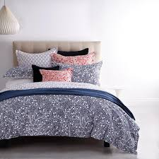 monika navy quilt cover set by royal doulton