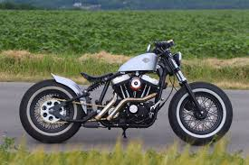 custom harley davidson sportster 883 u002797 with monoshock suspension