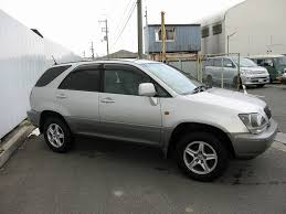 toyota harrier 2005 stock list syousai toyota harrier 3 0 mcu10 for sale japan gxe10