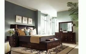bedroom paint colors with dark brown furniture home combo