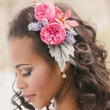wedding flowers in hair wedding hairstyles with flowers brides