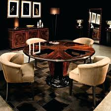 dining table round glass dining table brings wow factor unique