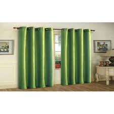 Curtains With Grommets Sateen Twill Weave Insulated Blackout