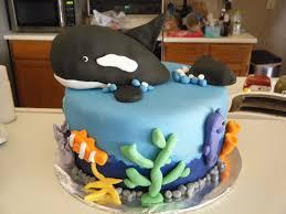 Ocean Cake Decorations Cassy U0027s Cakes Ocean Cake