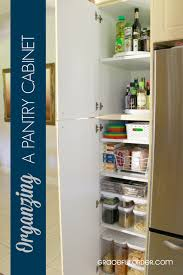 kitchen closet organization ideas organizing a deep pantry cabinet graceful order