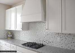 raised tile wallpaper as backsplash