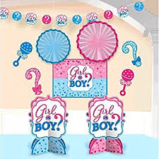 reveal baby shower girl or boy gender reveal baby shower party