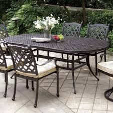Interesting Tables Interesting Design Metal Patio Dining Table Peachy Outdoor Dining