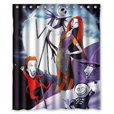amazon com the nightmare before christmas shower curtain 60
