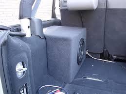 jeep wrangler speaker box aftermarket subwoofers jkowners com jeep wrangler jk forum