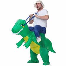 Kids Dinosaur Halloween Costume Inflatable Dinosaur Costume Fan Operated Kids Size