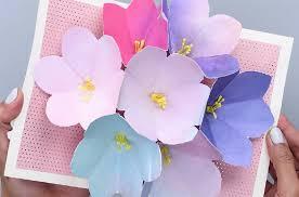 blooming flowers utiliser des carrés de 6x6 pour la fleur diy blooming flowers