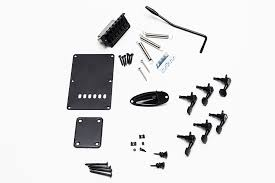 is black hardware in style black stratocaster hardware kit