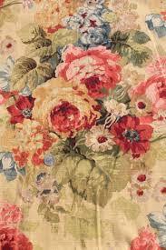 roses print curtains u0026 fabric lot waverly norfolk rose shabby