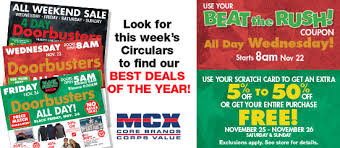 mcx black friday sale for annex marine corps community services