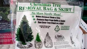 christmas tree disposal bags christmas ideas