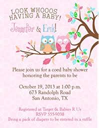 personalized baby shower bridal shower invitations