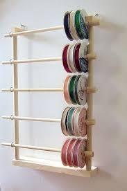 best 25 ribbon holders ideas on craft ribbon storage