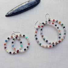 make bead bracelet wire images Lisa yang 39 s jewelry blog how to make beaded memory wire hoop jpg
