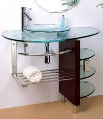Glass Bathroom Vanity Glass Vanity Bathroom Interior Design Home Diy Much