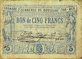 chambre de commerce de boulogne sur mer les monnaies de nécessité de 1870 par eduardo gurgel monnaie