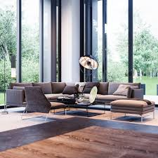 Home Interior Concepts Floor To Ceiling Windows1 Stripes And Wood Interior Design