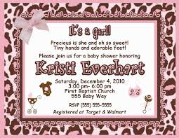 cheetah baby shower invitations home decorating interior design