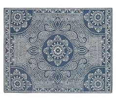 Cheap Outdoor Rugs 8x10 New Outdoor Area Rugs 8 10 Dot Printed Indoor Outdoor Rug Blue