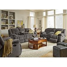 Sofa Loveseat Recliner by Park City Dual Reclining Sofa Loveseat And Glider Recliner Set