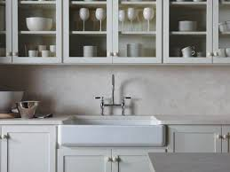 decorating paint kitchen cabinets with white kohler sinks and