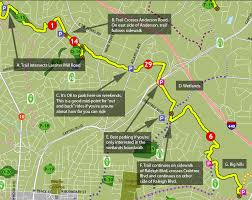 Map Of Raleigh Nc Greenways U2013 Get To Know A Park