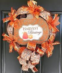 55 charming and thanksgiving wreath ideas for this season
