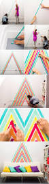 Washi Tape Home Decor Easy Renter Friendly Wall Decor Using Washi Tape Home Decor