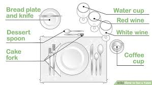 how to set table 3 ways to set a table wikihow