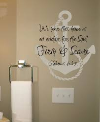 Best Love Anchors The Soul - an anchor for the soul wall decal