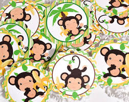 baby shower monkey monkey baby shower etsy
