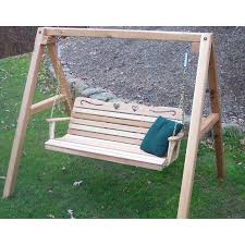 wood country yardswing stand with roof u0026 optional swing hayneedle