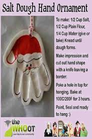 25 unique santa ornament ideas on salt dough