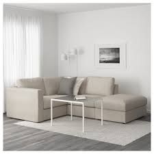 Ikea Modern Sofa Vimle Corner Sofa Seath Open Endgunnared Beige Ikea Living Room